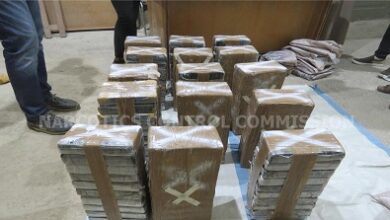Photo of 152 kgs of cocaine intercepted at Tema