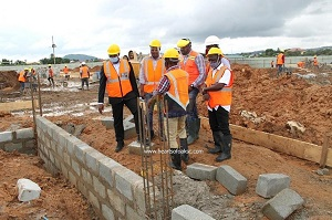 Photo of First phase of Hearts Pobiman Project ready in three weeks