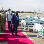 President hands over 10,000 hospital beds to Health Ministry