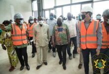 Photo of President inspects Kumasi military hospital project