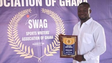 Photo of Shakur Samed crowned SWAG Amateur Boxer of the Year