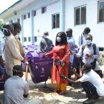 Sanitation ministry gives GJA dustbins for media houses