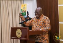 Photo of Pres launches 2017/2018 National Report  of Ghana Census on Agriculture