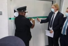 Photo of IHG hands over mortuary cold chamber to Police hospital