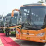 Pres gives STC 100 buses to expand services