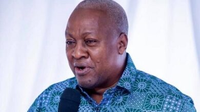 Photo of Mahama: 'Swing regions' will vote for NDC