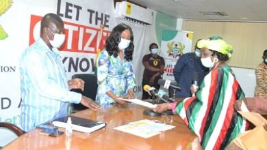 Photo of 12 presidential candidates file nomination forms for Dec 2020 polls