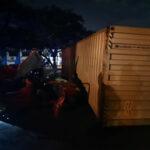 40-ft container, car crash kills 2 in T'adi