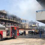 Fire destroys GCB Liberty House storeroom
