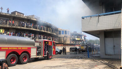 Photo of Fire destroys GCB Liberty House storeroom