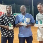 Kabutey shows class at Accra Seniors Open championship …beats Asamoah Gyan in thrilling final to win top prize
