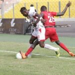 Kotoko, Hearts share points in pulsating clash