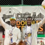 Tennis: Accra Doubles event ends