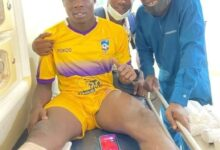 Photo of Medeama in pyrrhic victory … as Justice Blay breaks leg