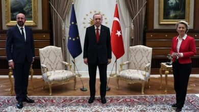 Photo of Turkey blames EU in 'sofagate' diplomatic spat