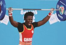 Photo of Sandra Owusu makes new weightlifting record ahead of trials