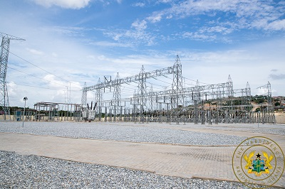 Bulk power supply in Ghana: Pres inaugurates largest point at Pokuase …350, households, businesses to benefit from reliable power